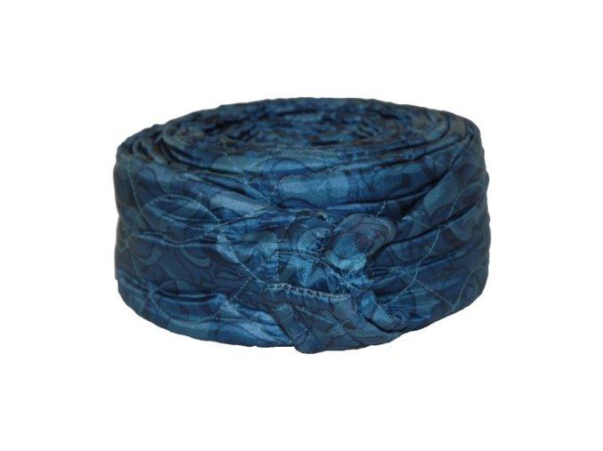 170331 Quilted Zipper Blue