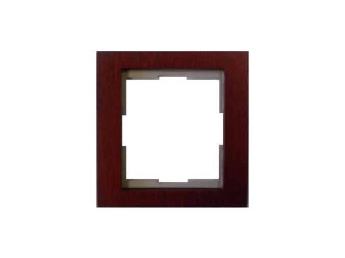Dřevěný rámeček Mahagon