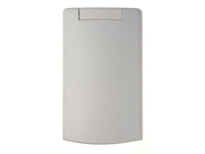 Vysavačová zásuvka Classic Plastová Celoplošná Bílá