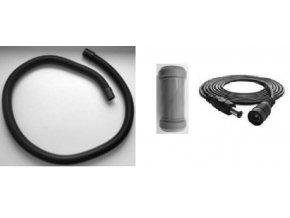 Instalační prodlužovací hadice a elektrické kabel