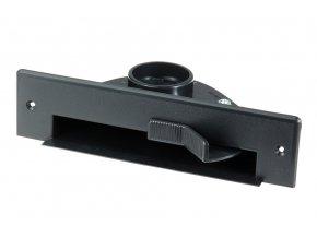 Podlahová štěrbina VacPan Plastiflex černá