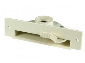 Podlahová štěrbina VacPan Plastiflex slonová kost