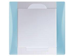Vysavačová zásuvka Elegant blankytně modrá sněhově bílá