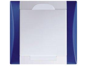Vysavačová zásuvka Elegant temně modrá sněhově bílá