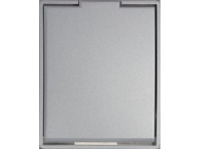 Zásuvka Compact Titanová