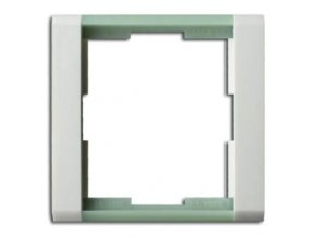 rámeček bílá ledová zelená