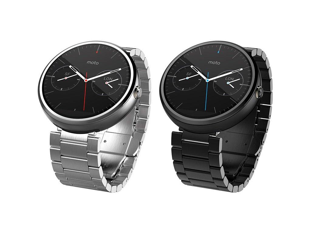 fe8f5e45306 Kovový řemínek pro chytré hodinky Motorola Moto 360 2