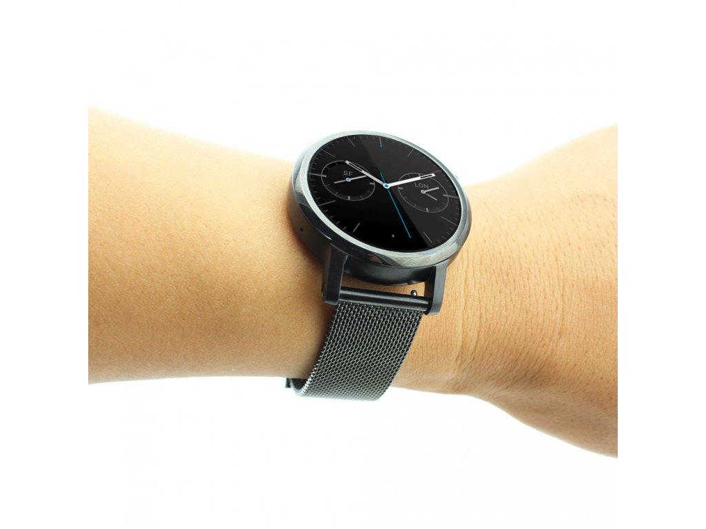 e02c5350b04 ... chytré hodinky Motorola Moto 360 Kovový řemínek pro hodinky Motorola  Moto 360 ...