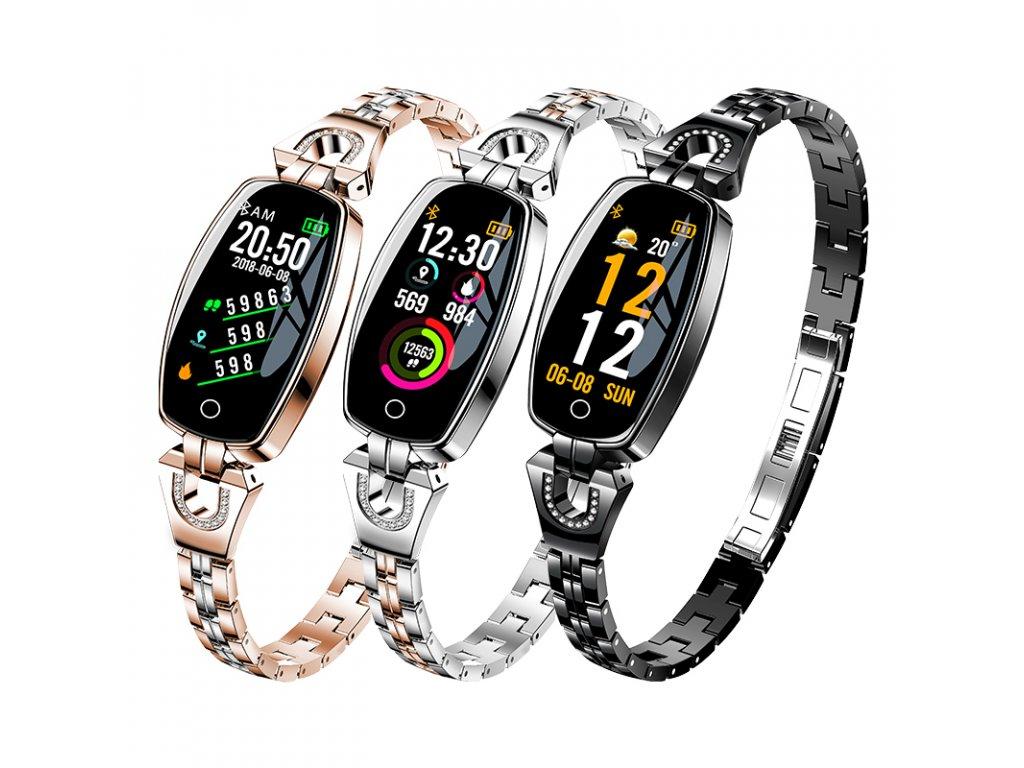 fb67d96035 Dámské chytré hodinky H8