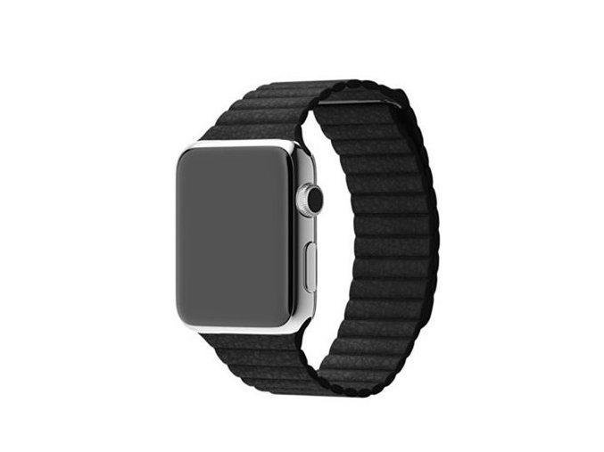 Kožený řemínek pro chytré hodinky Apple Watch a iWatch