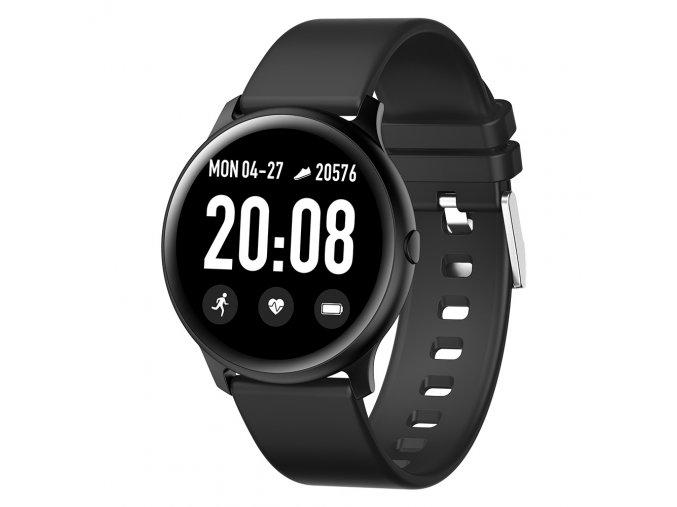 Chytré hodinky KW19 Pro na měření tepu