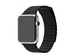 Kožený řemínek pro chytré hodinky Apple Watch a Sports Watch