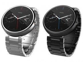 Kovový řemínek pro chytré hodinky Motorola Moto 360 2