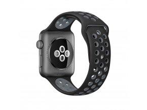 Nike silikonový řemínek pro chytré hodinky Apple Watch