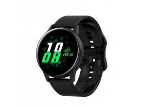 Chytré hodinky DT88 černé silikonové