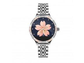 Dámské chytré hodinky stříbrné