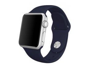 Sportovní silikonový řemínek pro chytré hodinky Apple Watch a iWatch