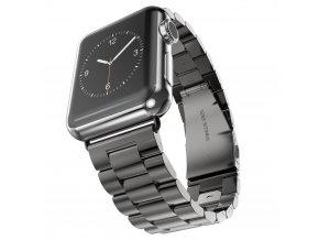 Kovový řemínek pro chytré hodinky Apple Watch a Sports Watch