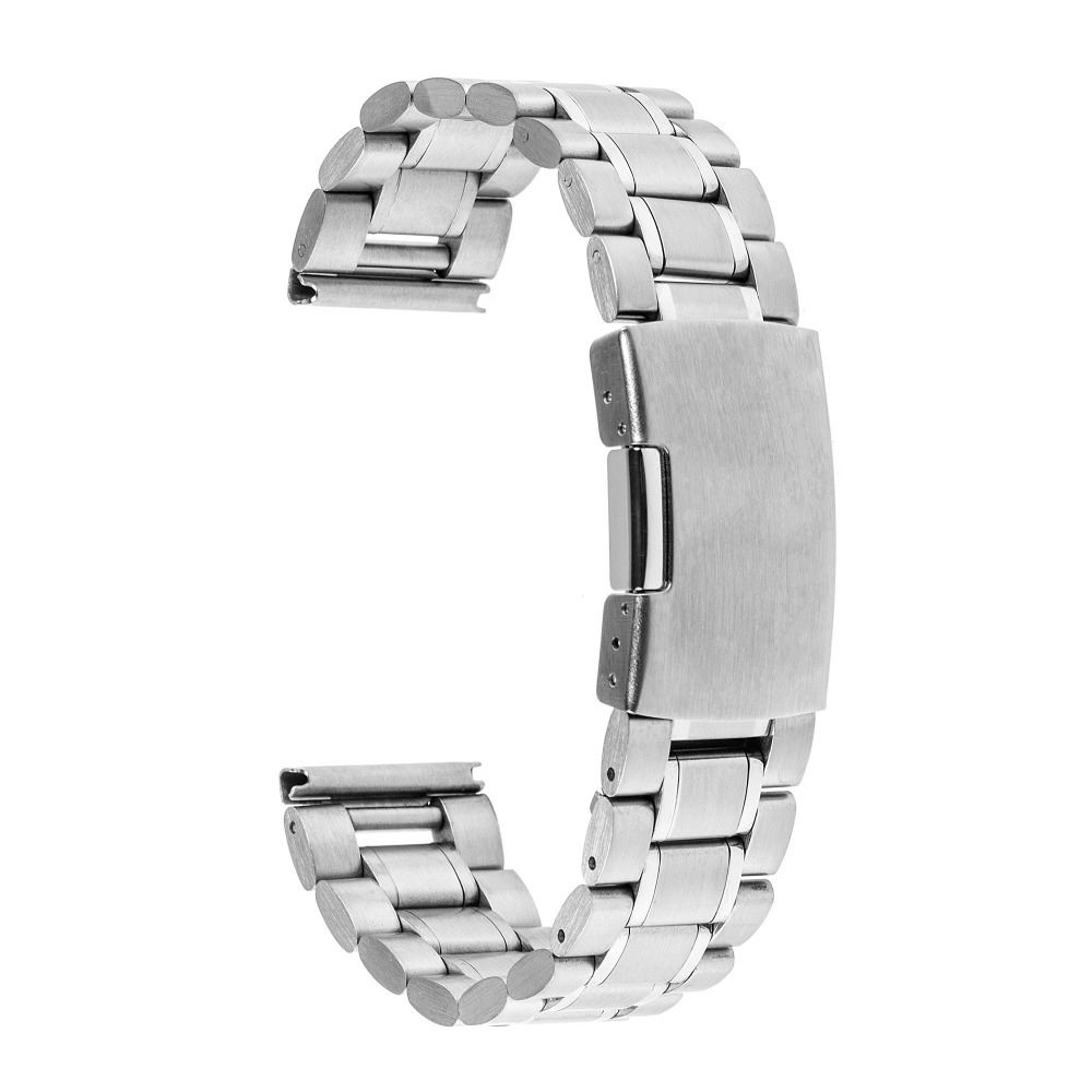 Kovový řemínek pro chytré hodinky Pebble Time Steel - El Uminium Řemínek: Stříbrný