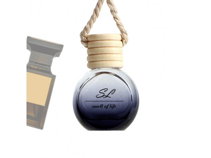 glass bottle diffuser tuscan leather