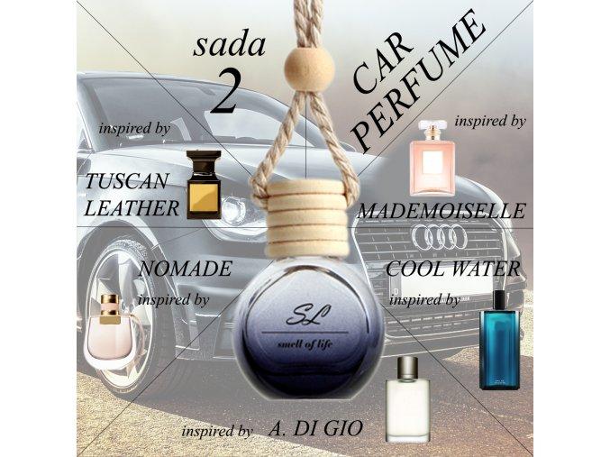 ZVÝHODNĚNÁ SADA 2 - auto unisex 5x 10 ml