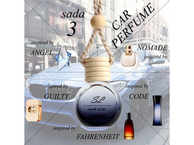 ZVÝHODNĚNÁ SADA 3 - auto unisex 5x 10 ml
