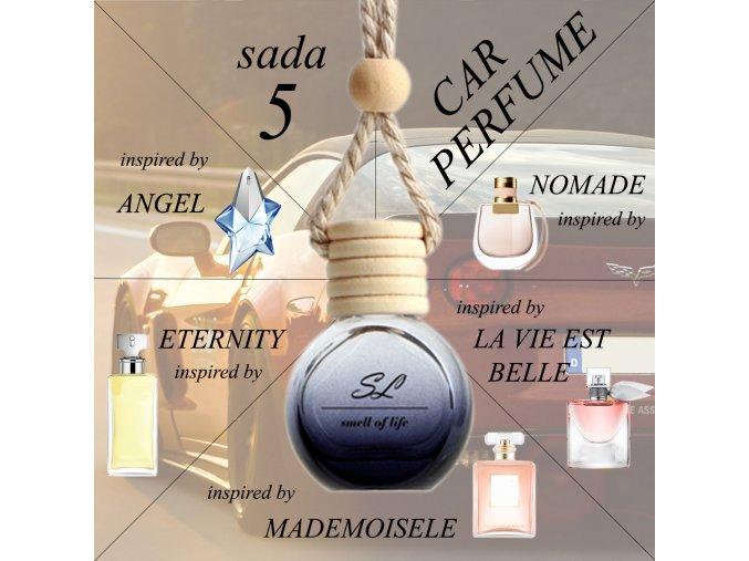 ZVÝHODNĚNÁ SADA 5 - auto dámská 5x 10 ml