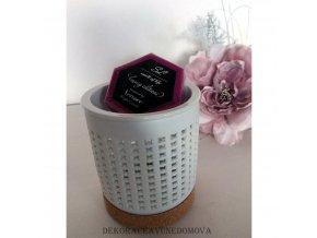 Dárkové balení aromalampa 7 + vosk dle výběru