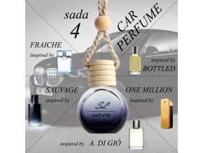 ZVÝHODNĚNÁ SADA 4 - auto pánská 5x 10 ml