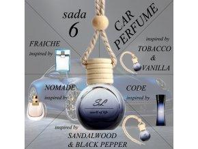 ZVÝHODNĚNÁ SADA 6 - auto spicy unisex 5x 10 ml