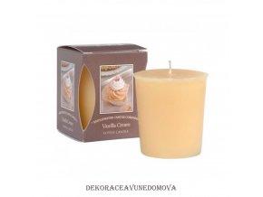 Votivní svíčka VANILLA CREAM