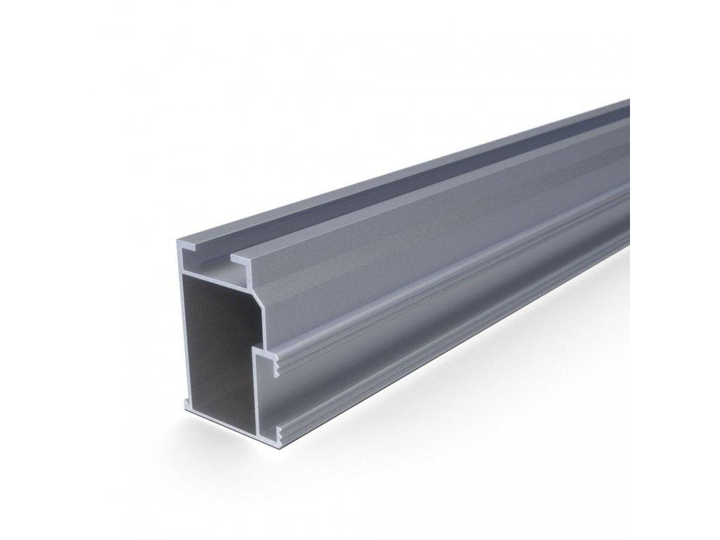 Hliníkový profil + 50x 37x 3200 mm