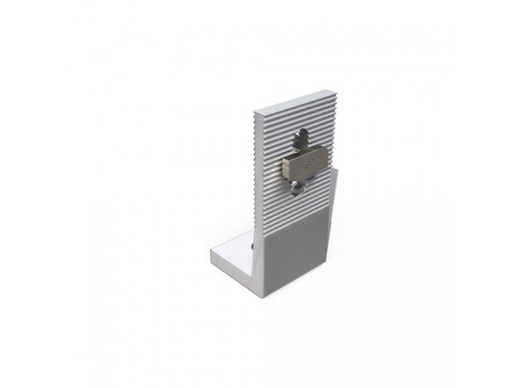 Hliníkový adaptér L  vč. šroubu M10