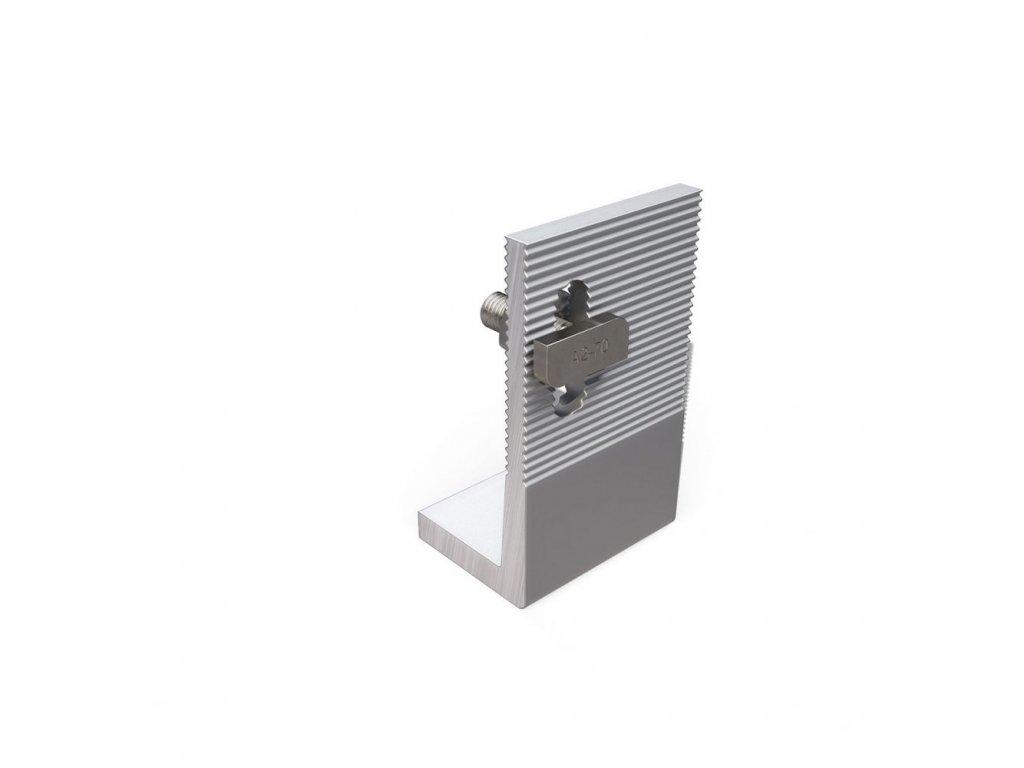 Hliníkový adaptér L vč. šroubu M10  (offset connection)
