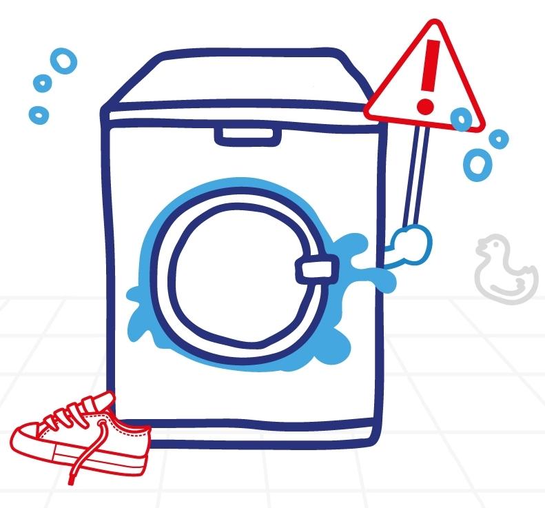 8 důvodů, proč neprat boty v pračce
