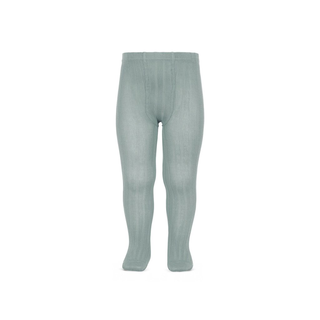 basic rib tights dry green