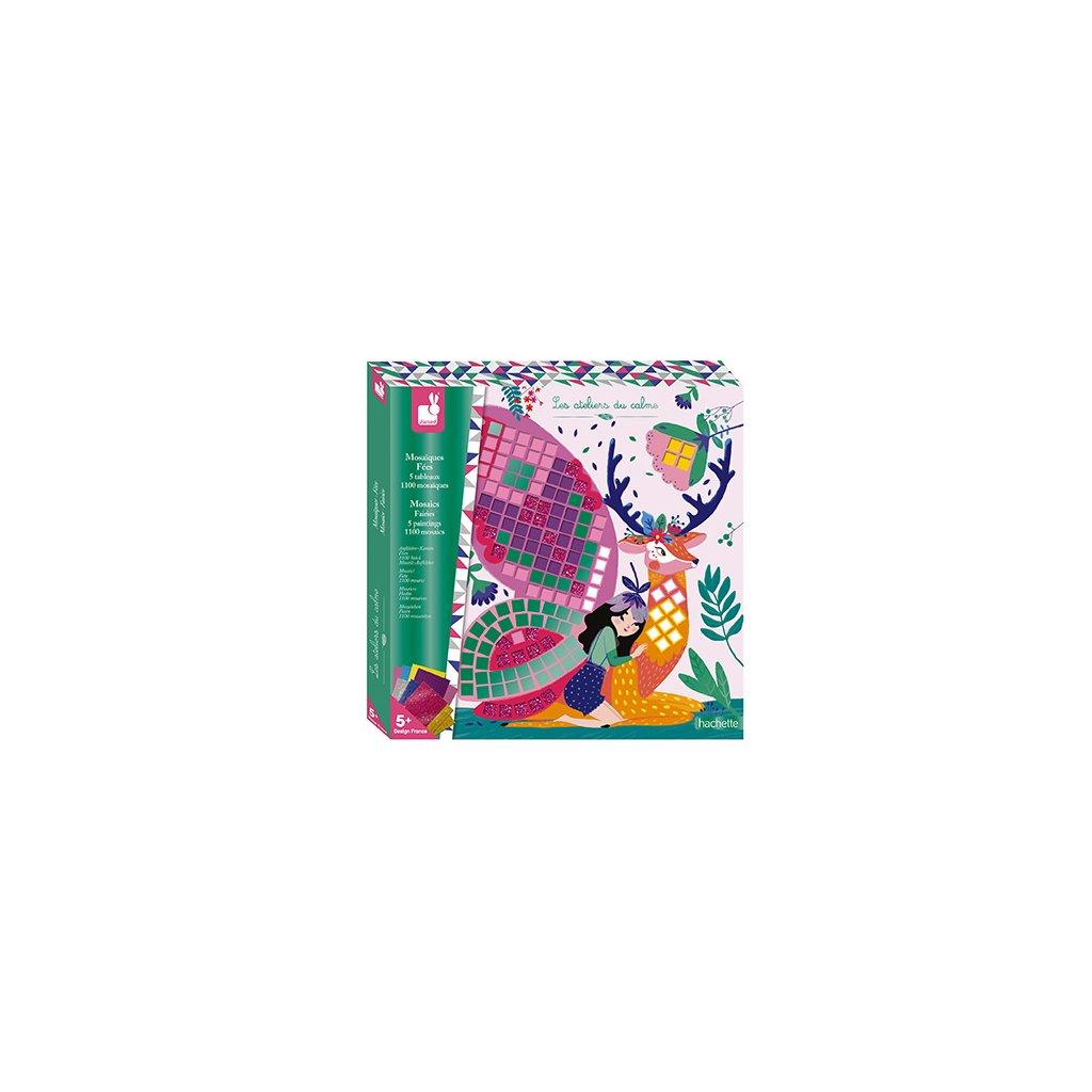 J07901 Janod mozaika vily kreativna sada maxi 01