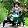 classic pedal car green (3)