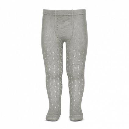 perle openwork tights lateral spike aluminium