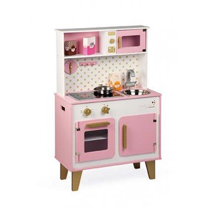 J06554 Janod Drevena kuchynka Candy 1