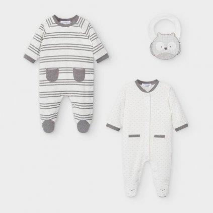 Mayoral set  novorozeneckých chlapeckých pyžam  2763-031
