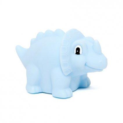 dino nightlight triceratops blue nl dtb a