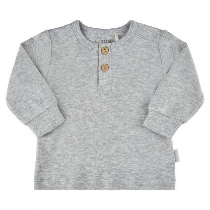 Fixoni kojenecké triko dlouhý rukáv  422008-1236  OEKO - TEX, GOTS certifikace