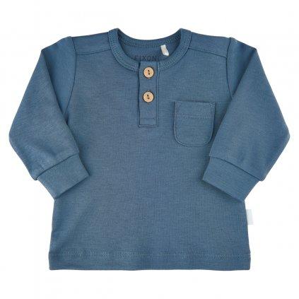 Fixoni kojenecké triko dlouhý rukáv  422012-7337  OEKO - TEX, GOTS certifikace