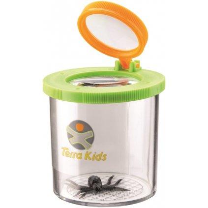 5241 Nadobka s lupou na hmyz a pavukom zvacsovacie sklicko Haba a