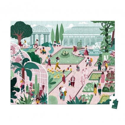 J02672 Janod puzzle botanicka zahrada 200 ks 01