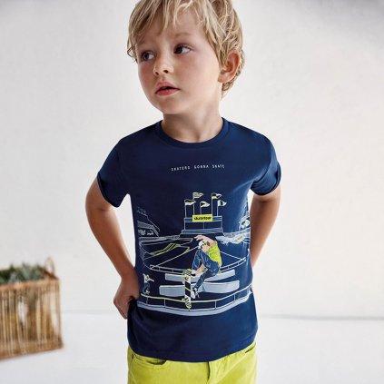 Mayoral chlapecké triko s krátkým rukávem 3040 - 054  Udržitelná bavlna