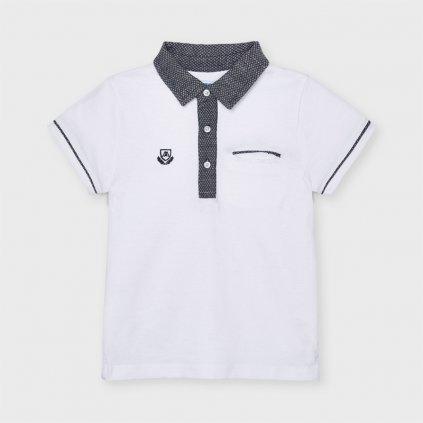 Mayoral chlapecké polo triko s krátkým rukávem 3110 - 089
