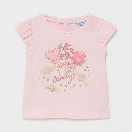 Mayoral  dívčí triko s krátkým rukávem 1081 - 070