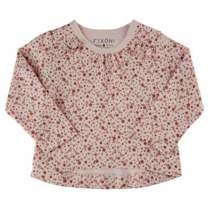 Fixoni kojenecké dívčí triko s dlouhým rukávem 34203 - 5210